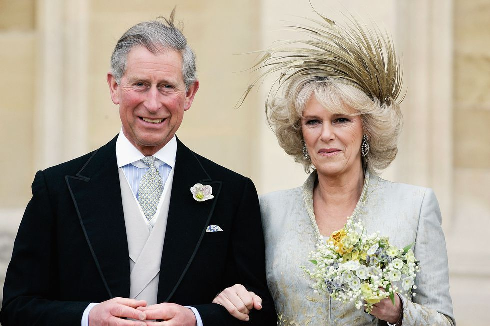 Image result for prince charles and camilla wedding