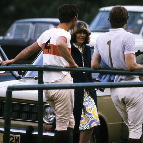 Prince Charles at Polo