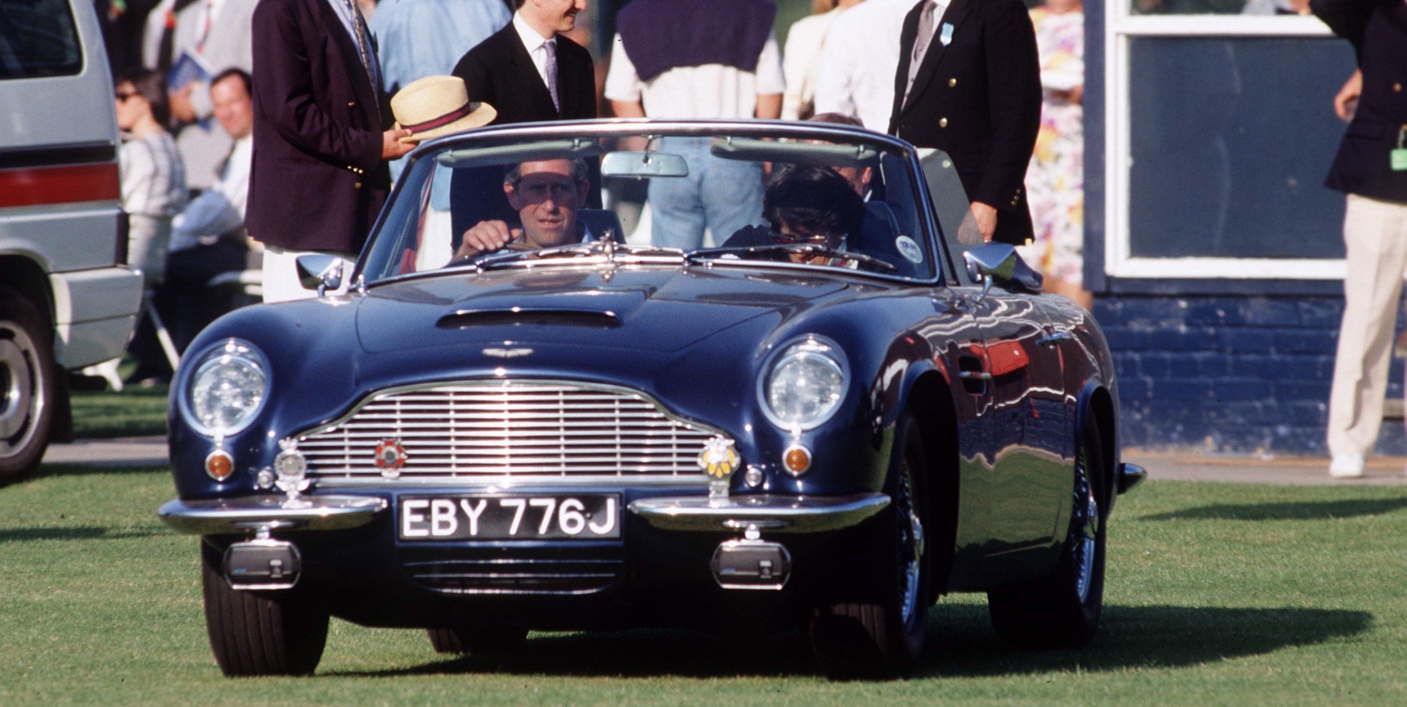 Charles Aston Martin Car