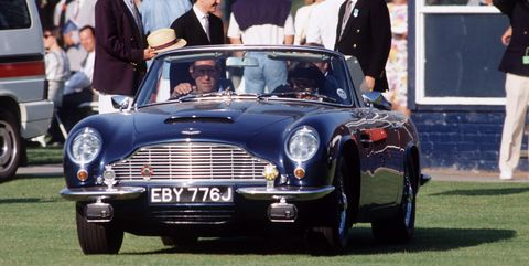 Prince Charles S Aston Martin Was Converted To Use White Wine As Fuel