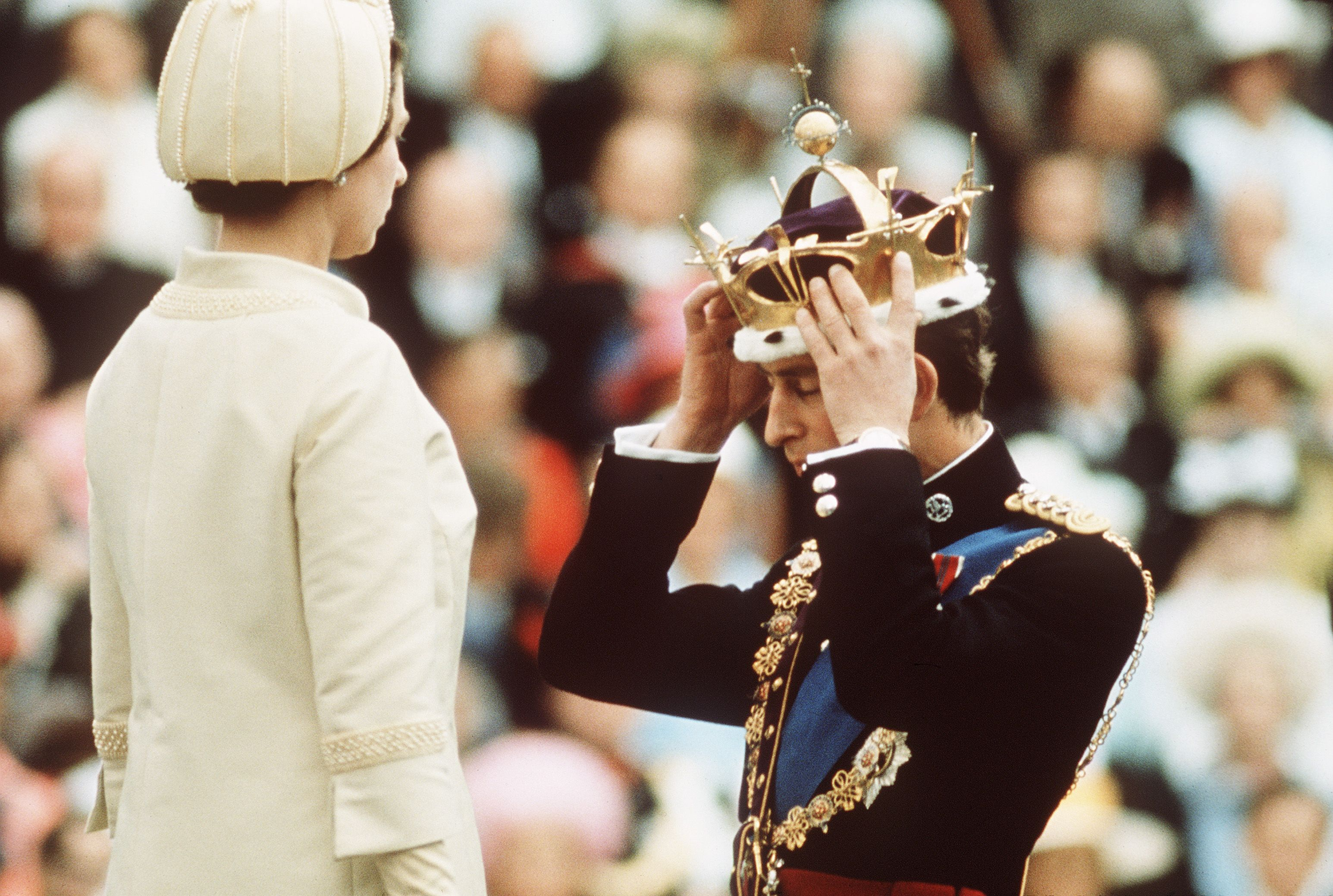 True Story of Prince Charles's Investiture as the Prince of Wales ...