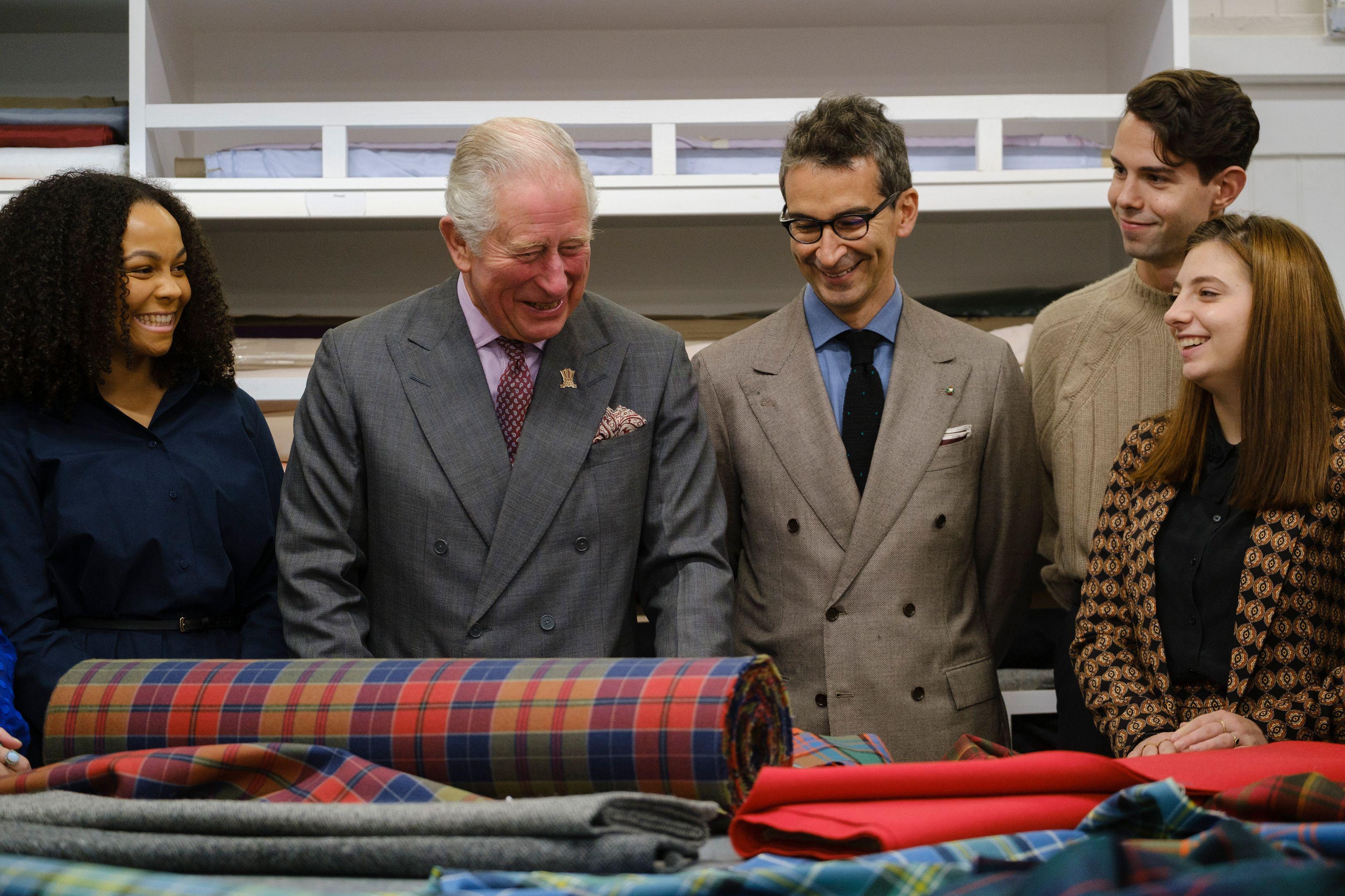 نتيجة بحث الصور عن Prince Charles + Fashion Design