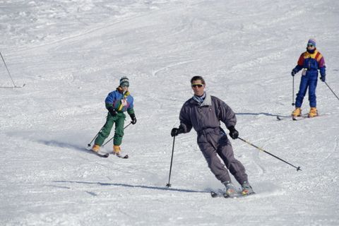 Royals In Klosters