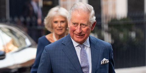 The Prince Of Wales And Duchess Of Cornwall Attend Age UK Tea At Spencer House