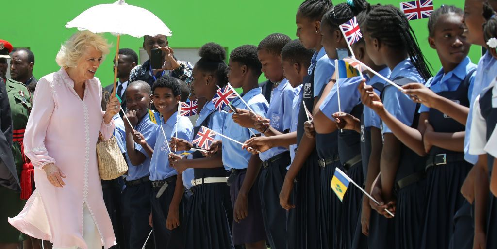 The Prince Of Wales And Duchess Of Cornwall Visit St. Vincent And The Grenadines