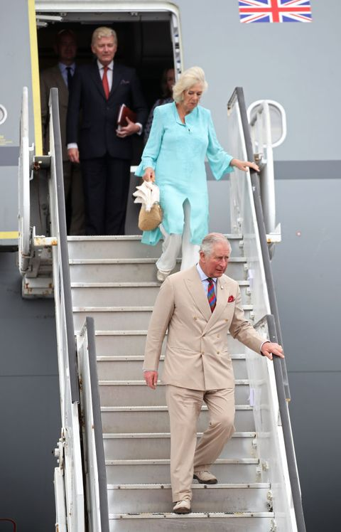 The Prince Of Wales And Duchess Of Cornwall Visit St. Kitts And Nevis