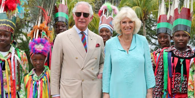From royal weddings and black tie events to international tours of the Commonwealth, Camilla Parker Bowles carries out a number of official duties—and she has to look the part of the wife of the future King of England. Unlike the Queen—and her step-daughter-in-law Kate—the Duchess of Cornwall usually steers clear of bright colors, favoring neutrals, pastels, and navy—with the occasional pop of bright blue.