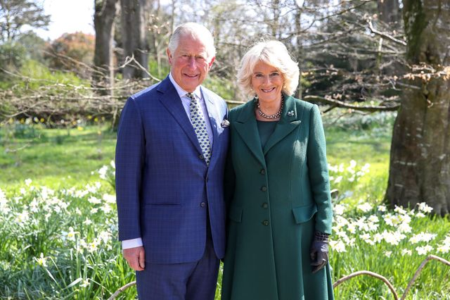 the prince of wales and duchess of cornwall attend the reopening of hillsborough castle  gardens