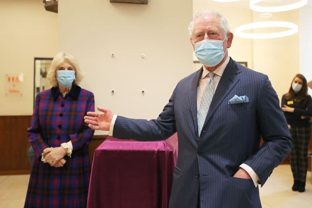 the prince of wales and the duchess of cornwall visit the queen elizabeth hospital, birmingham