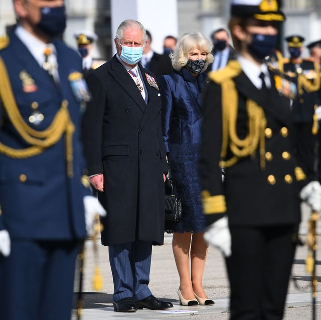 the prince of wales and the duchess of cornwall visit athens, greece day two