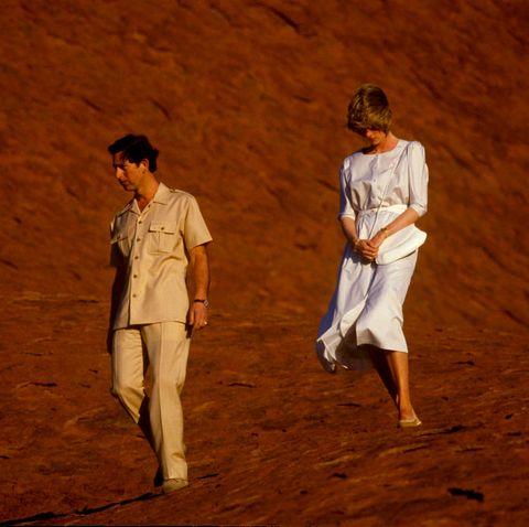 prince Charles princess Diana Visit Australia tour