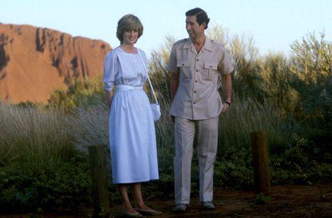 Charles and Diana Visit Australia