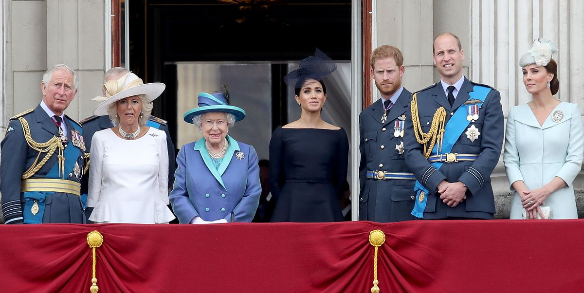 The Queen Releases Statement on Meghan Markle and Prince Harry's Oprah Interview