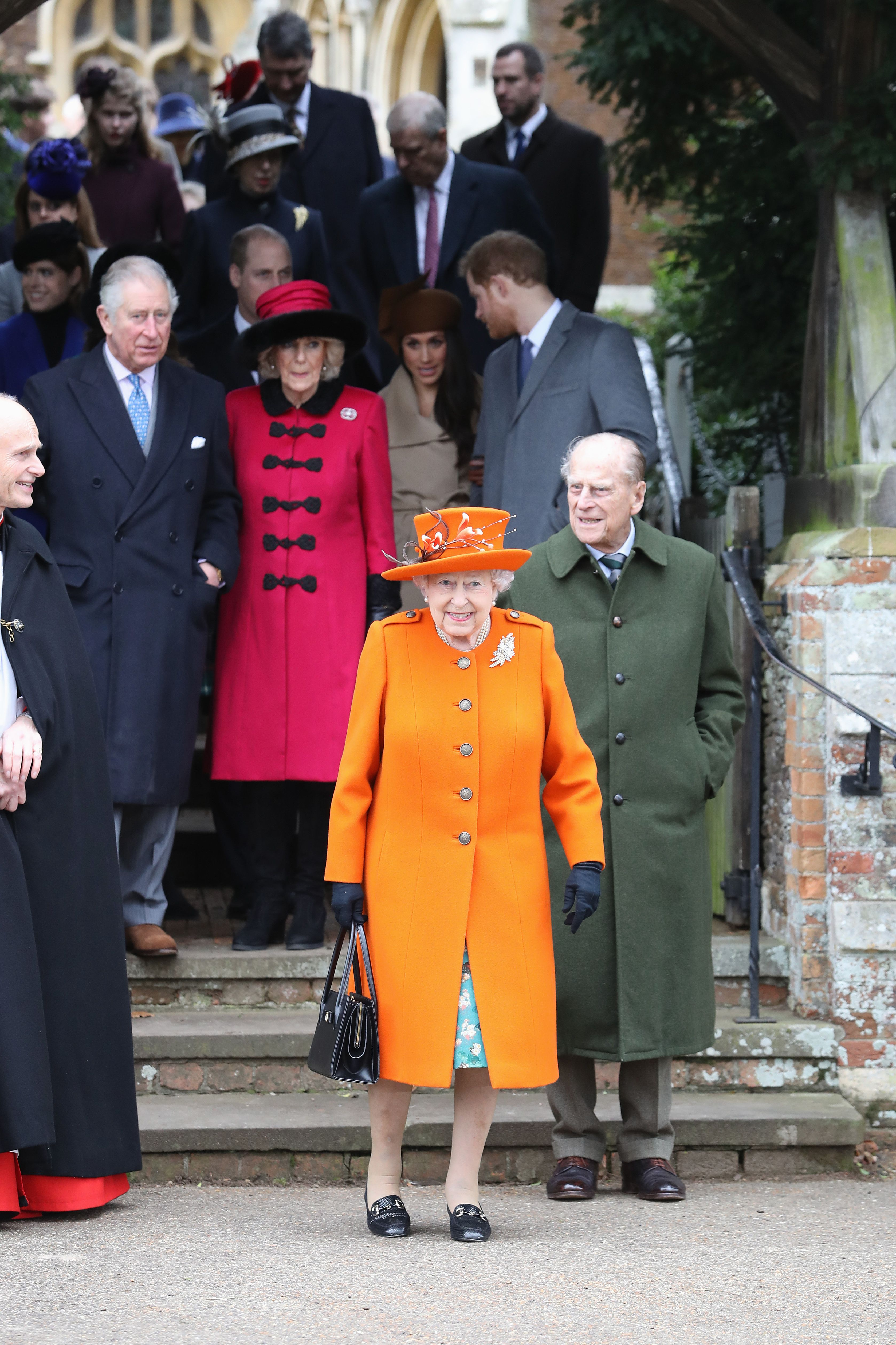 It was previously reported that the Queen extended an invitation.