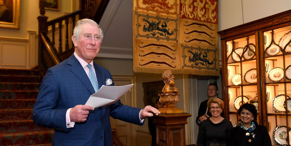 Peek Inside Prince Charles and Camilla's Private Library on a New Virtual Tour of Clarence House