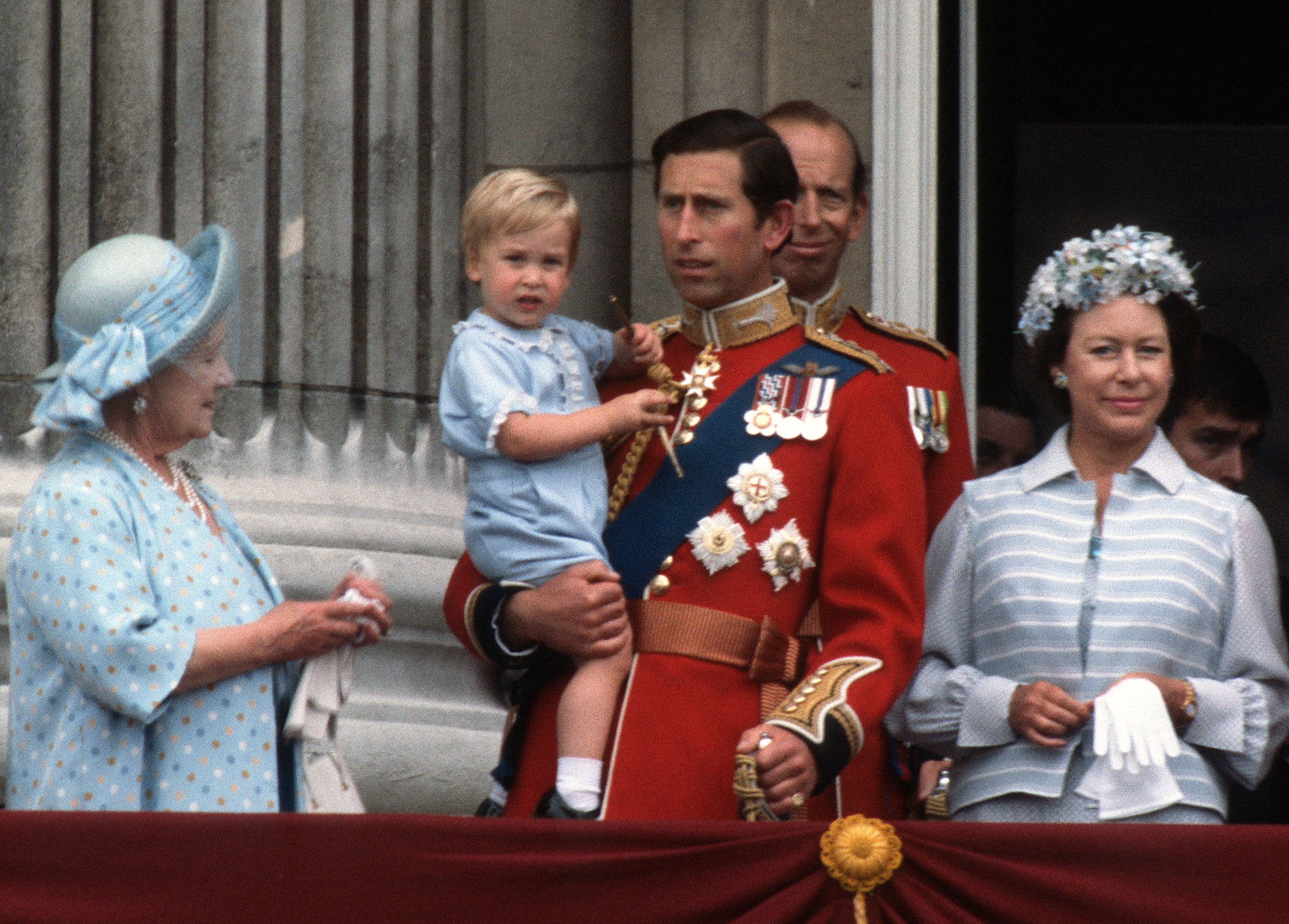 Prince Louis's First Trooping the Colour in 2019 Compared to