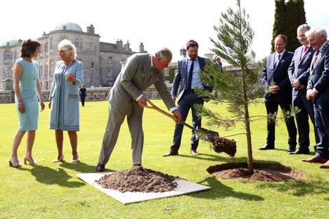 The Prince Of Wales And Duchess Of Cornwall Visit The Republic Of Ireland - Day 1