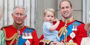 Prins George, Prins Charles, Prins William, tentoonstelling, nieuwe foto, baby George, opa Charles, drie generaties, Buckingham Palace