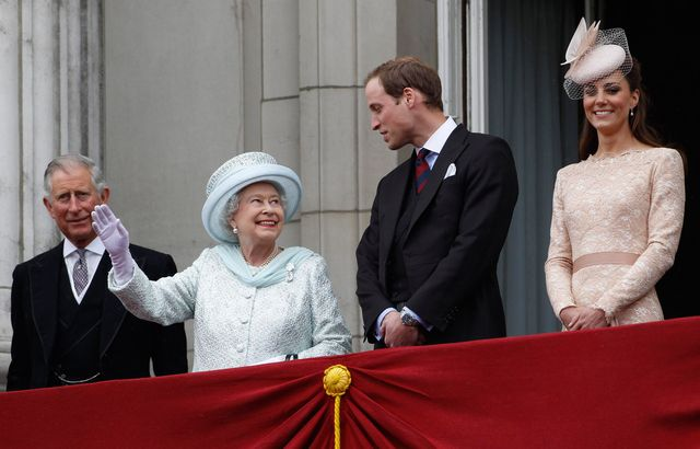 diamond jubilee   carriage procession and balcony appearance