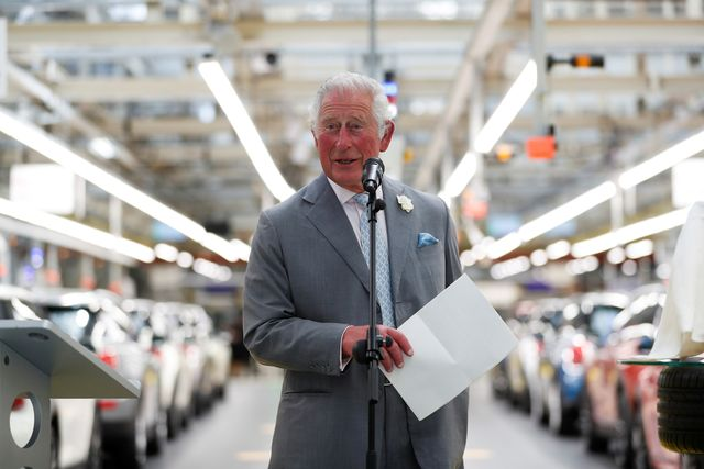 the prince of wales undertakes engagements in oxford