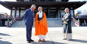 The Prince Of Wales Visits Tokyo - Day Three