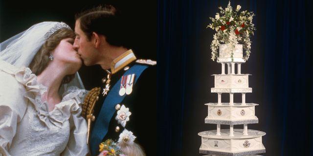 prince charles princess diana wedding cake auction