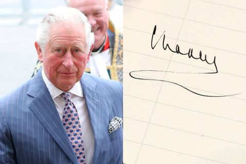 prince charles signature