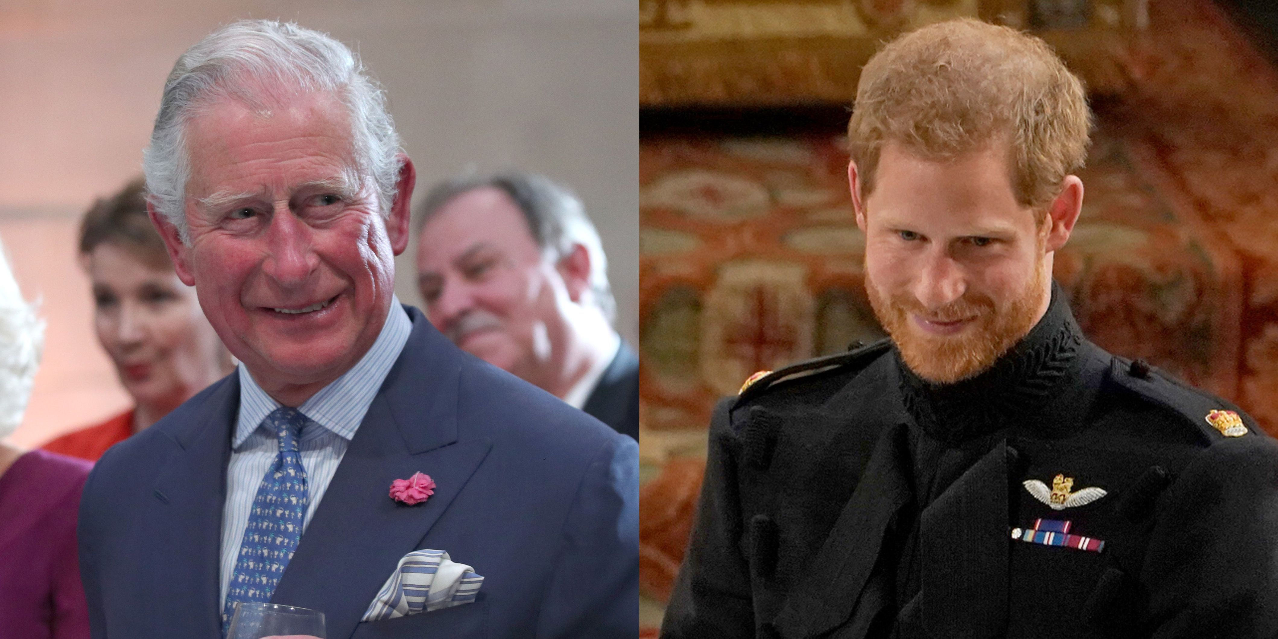 Princes Charless Royal Wedding Speech About Prince Harry Brought Everyone to Tears