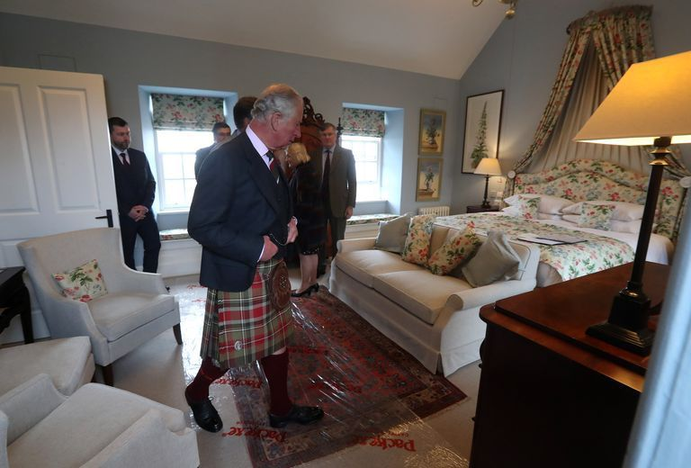 Prince Charles opens a bed and breakfast in Scotland