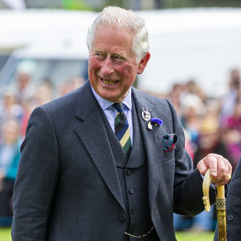 The Duke Of Rothesay Attends The Ballater Highland Games