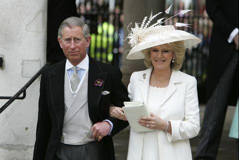 HRH Prince Charles e la signora Camilla Parker Bowles si sposano al Guildhall Civil Cer