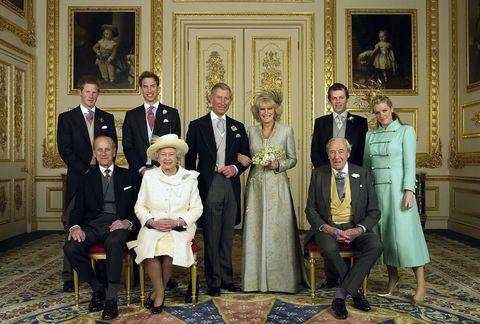チャールズ皇太子とカミラ夫人の結婚式