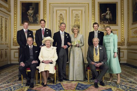 TRH Prince of Wales & The Duchess Of Cornwall - Foto ufficiale di matrimonio