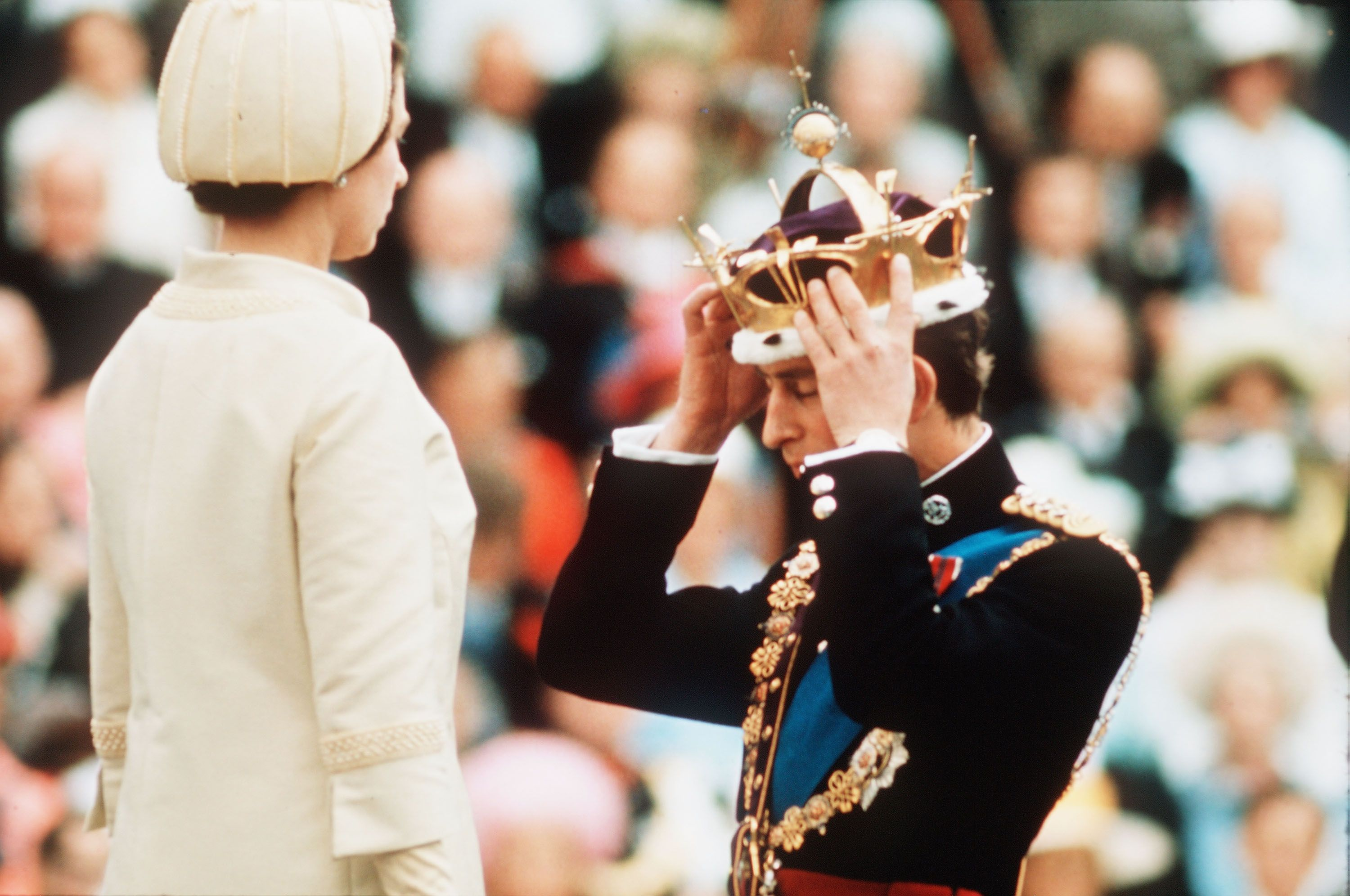Prince Charles's Prince of Wales Coronet Has an Actual Ping Pong Ball Hidden Inside It