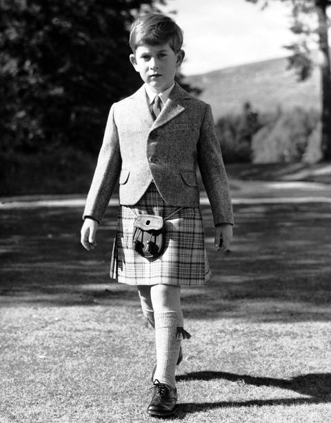 Prince Charles At The Age Of 7 In 1955