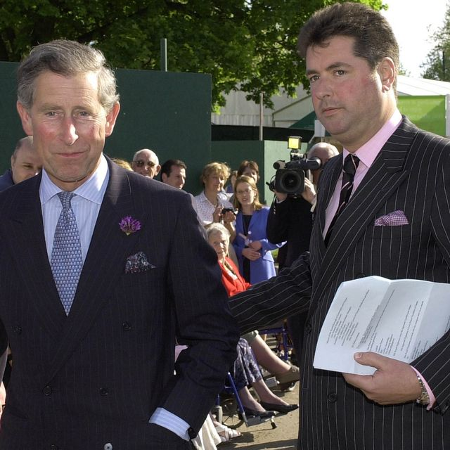 prince charles with his valet michael fawcett,