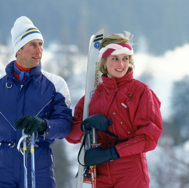 Charles Diana Ski Holiday
