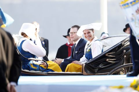 prince daniel crown princess victoria National Day in Sweden 2019