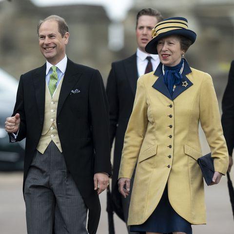 Princess Anne at Lady Gabriella Windsor's Wedding to Thomas Kingston