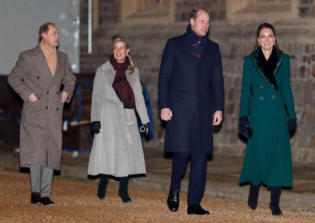 キャサリン妃、ウィリアム王子、ソフィーさん