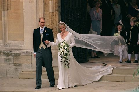 ​Prince Edward and Sophie Rhys-Jones