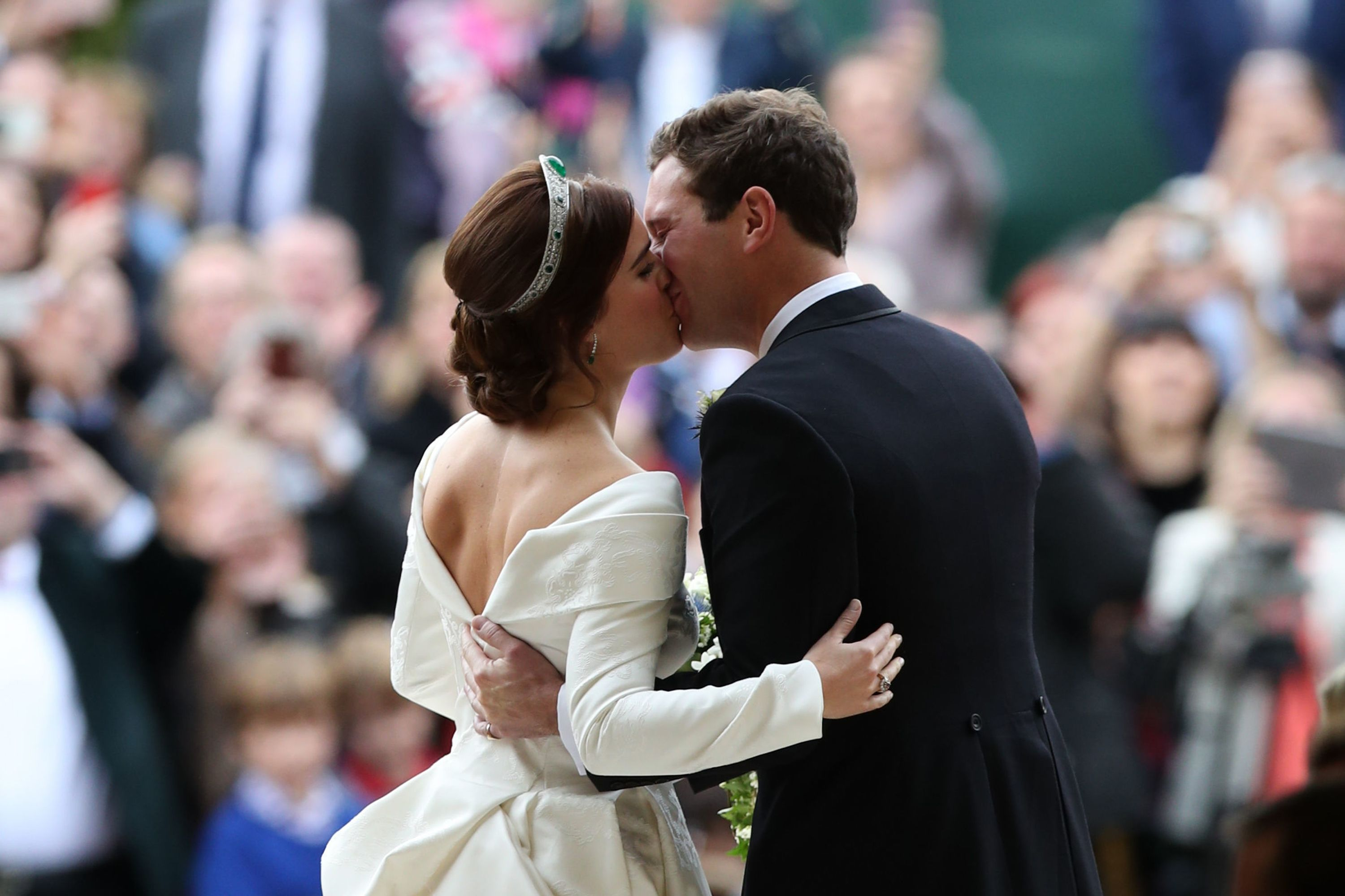 Zac Posen shares beautiful unseen photo of Princess Eugenie in her second wedding dress