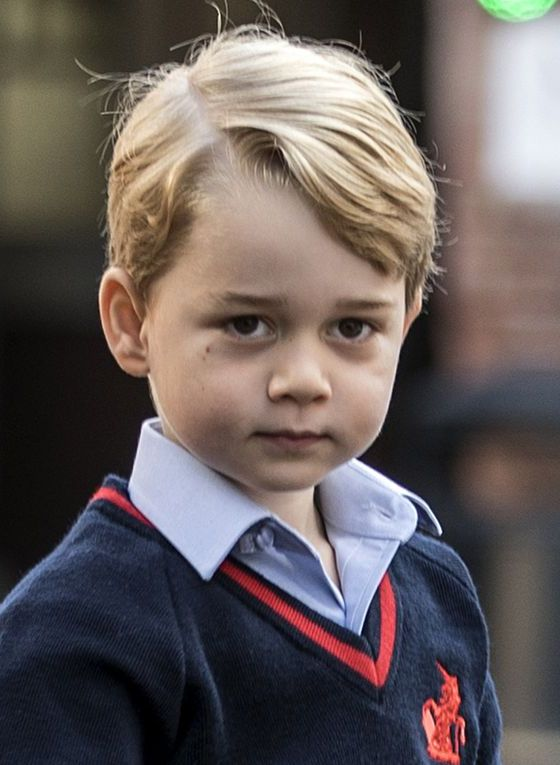 Hear Prince George speak on camera for the first time publicly