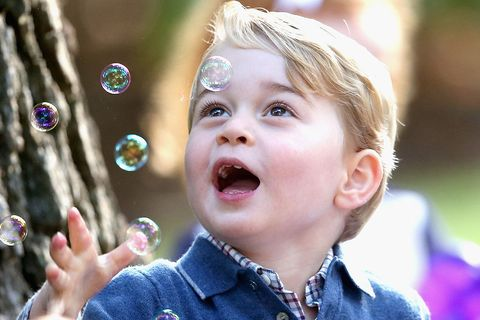 prince george bubbles photo