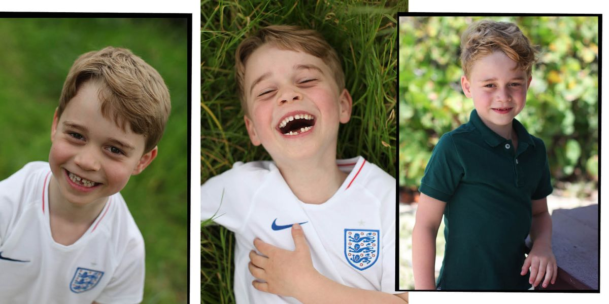 Prince George Birthday - Prince George Wears England Shirt In Pictures Taken By Kate Middleton