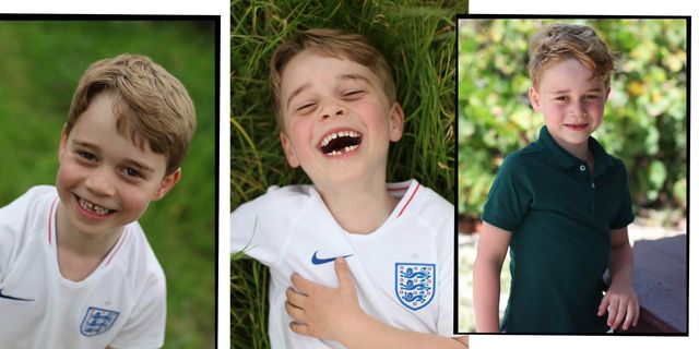 Prince George Wears England Shirt To Support The Lionesses In Pictures Taken By Kate Middleton