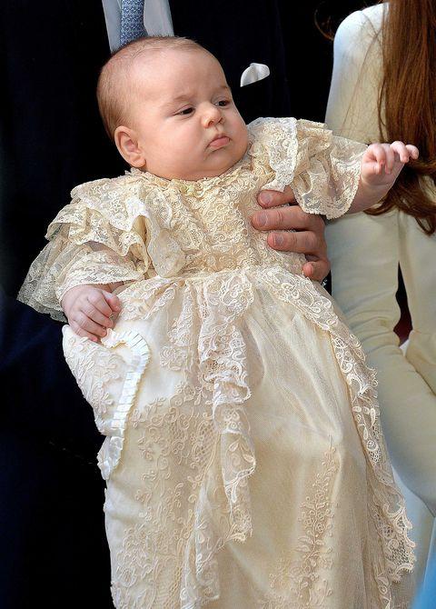 4caeba674 Prince Louis's Christening Dress History - Traditions Behind Royal ...