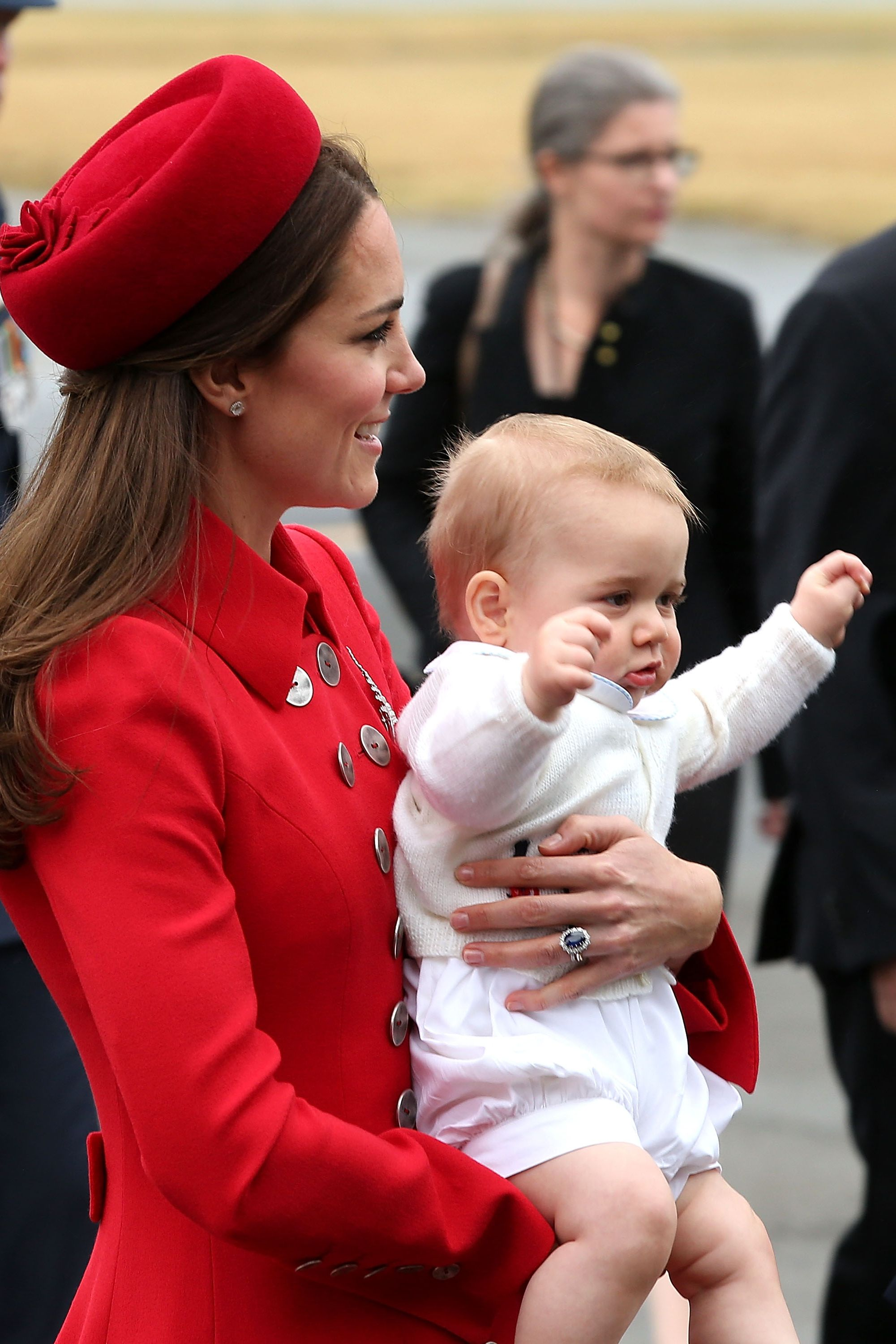 The Duke And Duchess Of Cambridge Tour Australia And New Zealand - Day 1