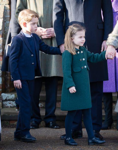 クリスマス礼拝、シャーロット王女、ジョージ王子、クリスマス礼拝、2019年