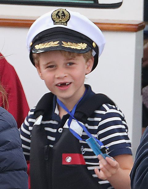 prince george in 2019 at the king's cup regatta